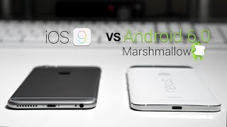 Download iOS 9 vs Android 6.0 Marshmallow Video