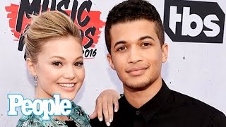 Download Oliva Holt & Jordan Fisher Share Friendship Stories & Talk About Her Boyfriend | People NOW | People Video