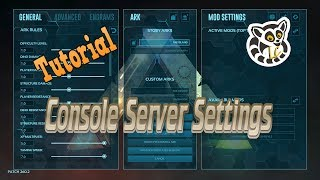 Download Ark: Survival Evolved - Console Server Settings *Current* Video