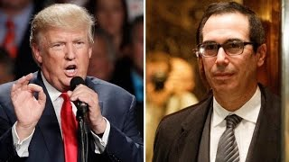 Download Trump Cozies Up To Wall St With ″Swampy″ Cabinet Picks Video