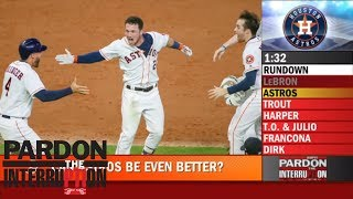 Download Astros star after 12-game win streak: 'We'll let people know when we're playing well' | PTI | ESPN Video