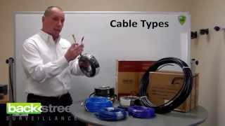 Download Types of Security Camera Cables & Maximum Distances Video