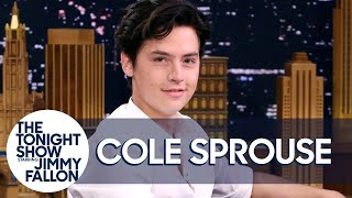 Download Cole Sprouse Shares Adorable Photos from His First Tonight Show Appearance Video