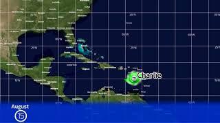 Download 1951 Atlantic Hurricane Season Animation (Version 2) Video