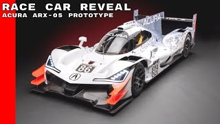 Download Acura ARX-05 Prototype Race Car Reveal Video