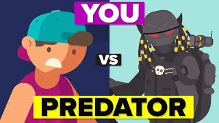 Download YOU vs The PREDATOR - How Could You Defeat and Survive It? Video