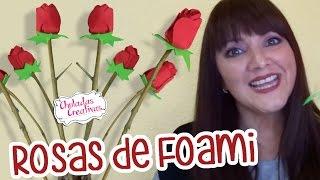 Download 🌹 Rosas de Foami : Rosas con Goma Eva : Manualidades Sammily Chuladas Creativas Video