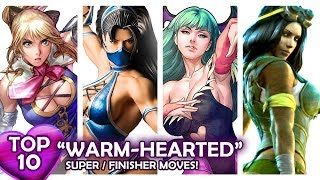 Download TOP 10 ″WARM-HEARTED″ SupeR/FinisheR Moves in Fighting Games! VOL.1 Video