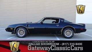 Download 1979 Pontiac Firebird Trans Am #525-DFW Gateway Classic Cars of Dallas Video