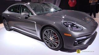 Download 2017 Porsche Panamera Turbo Executive - Exterior and Interior Walkaround - 2016 LA Auto Show Video