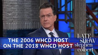 Download Stephen Colbert (The Other One) On Michelle Wolf's WHCD Speech Video