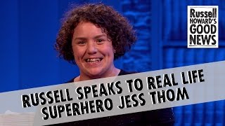 Download Russell speaks to real life hero Jess Thom Video