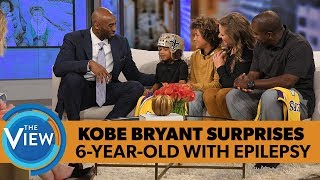Download Kobe Bryant Surprises 6-year-old With Epilepsy | The View Video