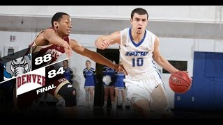 Download IPFW Men's Basketball Holds Off Denver 88-84 Video