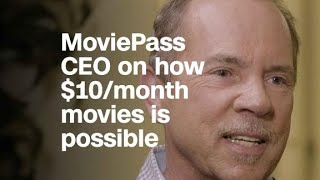 Download MoviePass CEO on how $10/month movies is possible Video