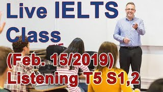 Download IELTS Live Class - Listening Practice - Skills for Band 9 Video