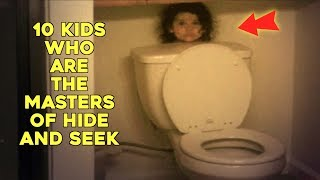 Download 10 Kids Who Are The Masters Of Hide And Seek Video