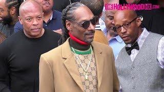 Download Dr. Dre, Snoop Dogg & Warren G Arrive To Snoop's Hollywood Walk Of Fame Ceremony 11.19.18 Video