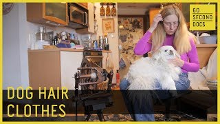 Download Dog Hair Clothes | Knit Your Dog // 60 Second Docs Video