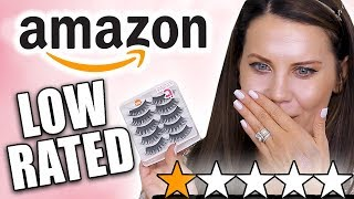 Download TESTING LOW-RATED AMAZON MAKEUP Video