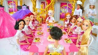 Download Royal School life of Princess Dolls & Barbie Prinzessin Schule École de princesse boneka Barbie Video