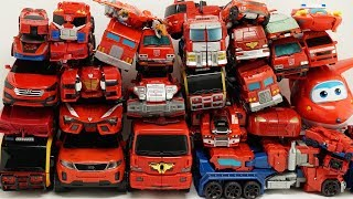 Download Full Tobot Robot Red Car Color Transformers Optimus Prime, HelloCarbot, Miniforce Truck Mainan Toys Video