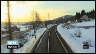 Download Gjøvikbanen på 34 minutter - driver's eye view Video