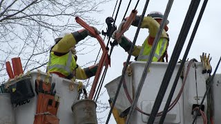 Download All eyes on NJ utility companies on eve of fourth nor'easter Video