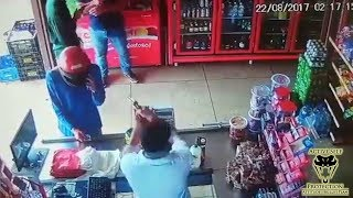 Download Store Owner Gets the Drop on Robbers | Active Self Protection Video