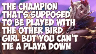 Download The Champion That's Supposed To Be Played With The Other Bird Girl But You Can't Tie A Playa Down Video