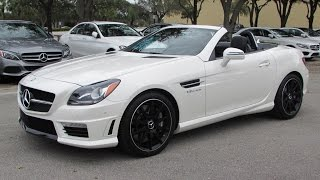 Download 2015 Mercedes-Benz SLK55 AMG Start Up, Exhaust, and In Depth Review Video