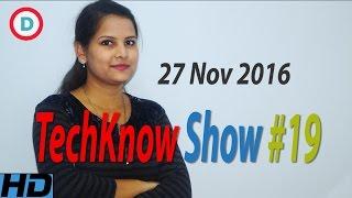 Download TechKnow Show #19 Hindi | 28 Nov 2016 | Top Tech News | Coolpad, Lenovo, Oppo, VLC, Meizu Video