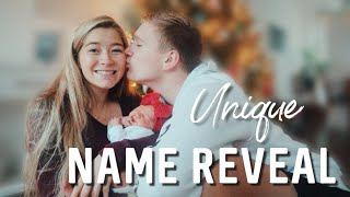 Download OFFICIAL BABY GIRL NAME REVEAL // The meaning behind her name Video