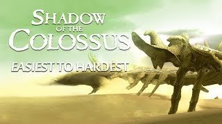 Download All Colossi Ranked Easiest to Hardest - Shadow of the Colossus Video