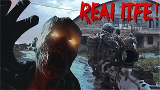 Download VIDEOGAMES IN REAL LIFE! - Call of Duty Zombies Black Ops 3 (60fps) Video