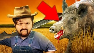 Download SKY HUNTS WILD GAME! | Blood and Bacon Video