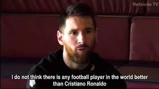 Download Lionel Messi • Exclusive Interview on Cristiano Ronaldo • 2018 Video