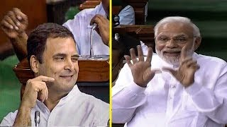Download Rahul Gandhi's hug & wink act and how PM Modi responded | FULL VIDEO Video