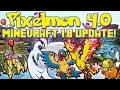 Download Pixelmon 4.0 Update Review! | Now in Minecraft 1.8 | Rocket Helmet, Air Balloon, & More! Video