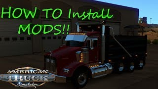 Download HOW TO Install Mods on American Truck Simulator In 2 Ways!! Easy and Quick! Video