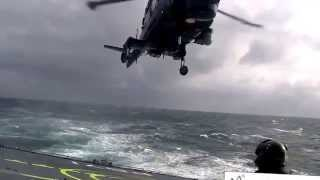 Download Lynx Helicopter amazing ship landing Video