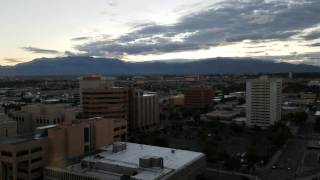 Download Albuquerque Skyline Time lapse Video