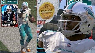 Download MUT 17 - 99 Speed John Ross 99 Cam Newton Gameplay! Madden 17 Ultimate Team Video