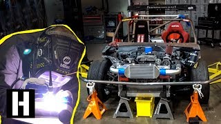 Download ShartKart Gets Welded up: Bash Bar, Charge Pipe, and Other Party Supplies Video
