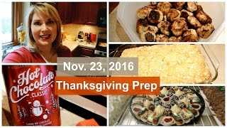 Download ❤️Nov 23, 2016~ Thanksgiving Prep Video