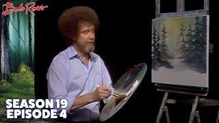 Download Bob Ross - Snowy Morn (Season 19 Episode 4) Video
