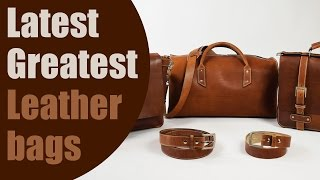 Download Top 5 Plus Latest Greatest Leather Bag Design Innovations Video