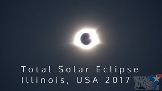 Download Amazing 2017 Total Solar Eclipse Experience in Illinois Video