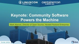 Download Keynote: Community Software Powers the Machine by Mark Atwood Video