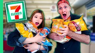 Download 10 KOREAN FOODS You've Never Seen! UNIQUE Korean 7-Eleven Tour in Seoul Video